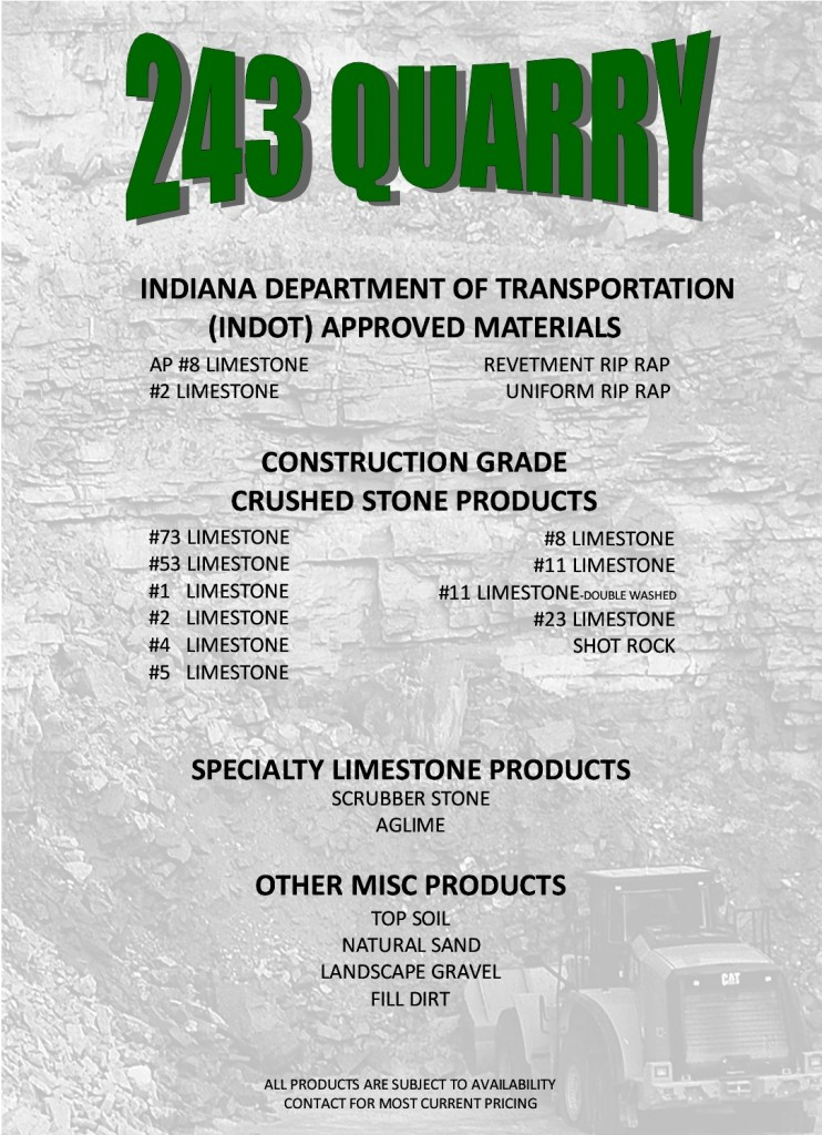 QUARRY PRODUCTS